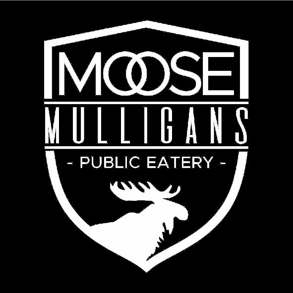 Moose Mulligans Public Eatery Logo, Restaurants in Sicamous BC