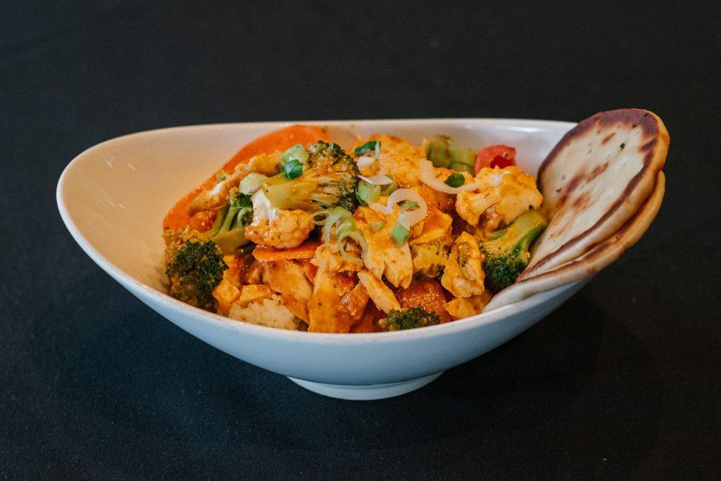 Thai veggie dish, Sicamous Food, Moose Mulligans, Sicamous BC