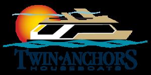 Twin Anchors House Boats Logo